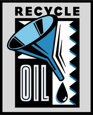 How do you dispose of used oil outboard motor oil What do i do with used motor oil