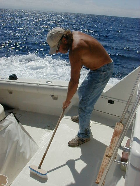 Cleaning Your Boat
