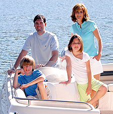 Family Boating Becomes More Popular