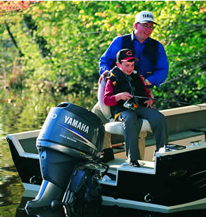 Stealth Operation for Outboard Motors
