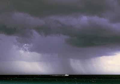bad weather boating