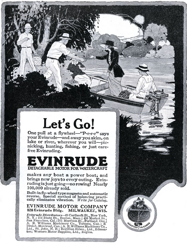 More than 100 Years of Evinrude