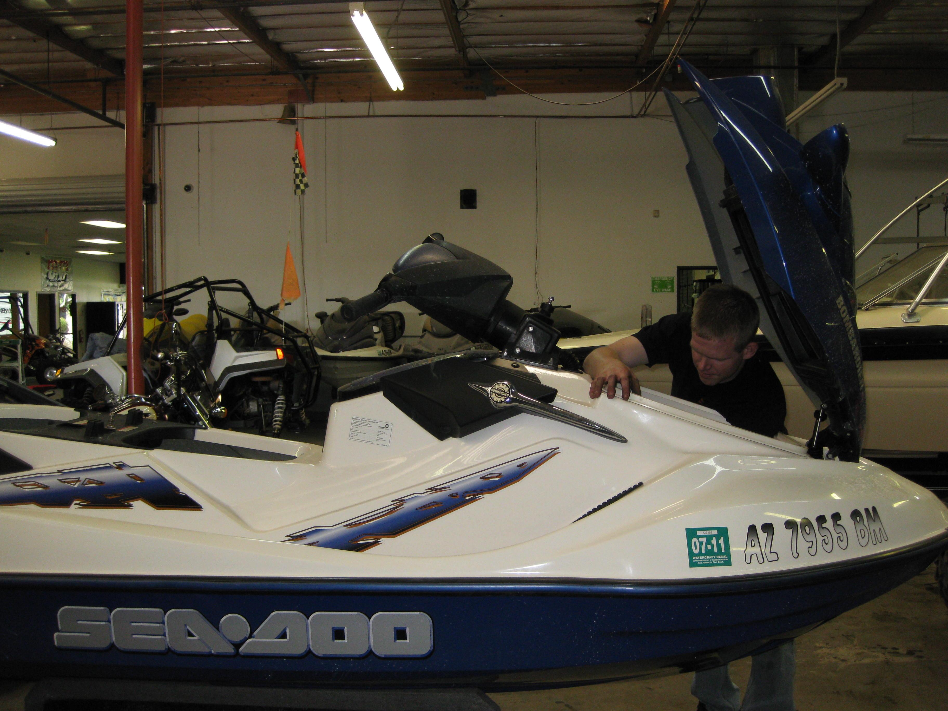 Jet Ski Maintenance