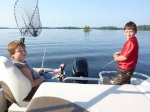 Boys-Fishing
