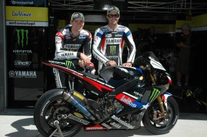 ben Spies and Colin Edwards - Tech3 Yamaha